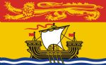 NEW BRUNSWICK - 5 X 3 FLAG